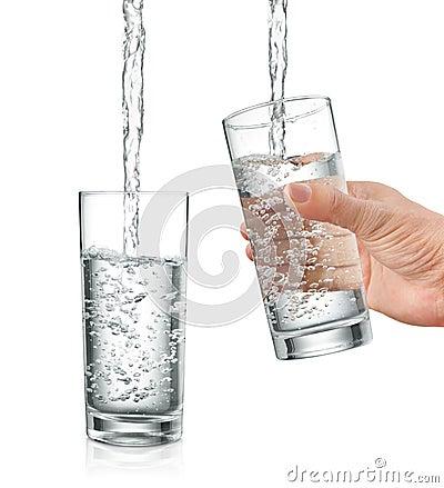 Free Filling Water Royalty Free Stock Image - 15247836