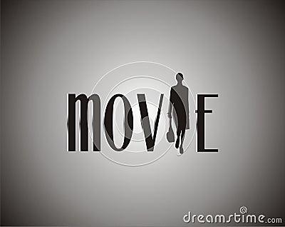 Film auf Schwarzweiss