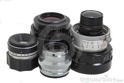 Film camera lenses