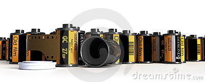 Film canister for camera