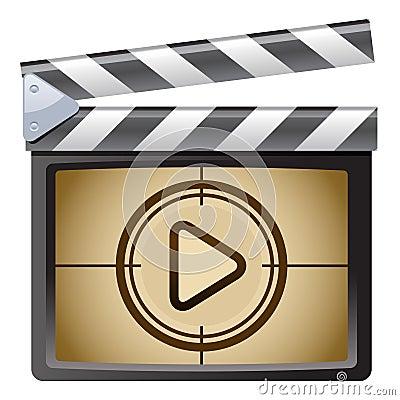 Film Clapboard. Play