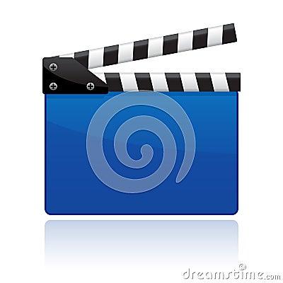 Free Film Clapper EPS Stock Photo - 15816120