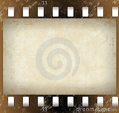Film(color) frame (with a texture)