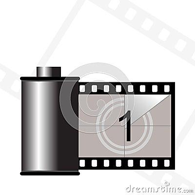 Free Film Container Stock Image - 1619851
