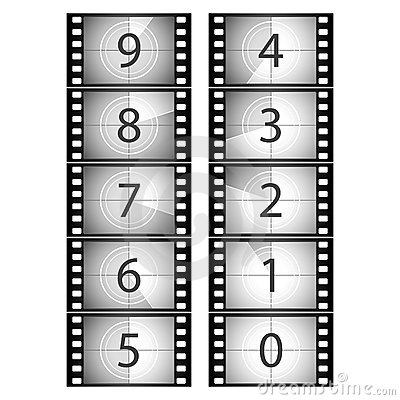 Free Film Countdown Stock Images - 10855614
