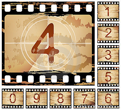 Free Film Countdown Stock Photography - 13795542