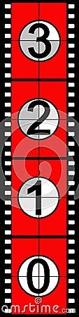 Free Film Countdown Stock Photos - 827803
