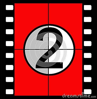 Free Film Countdown Stock Photo - 843890