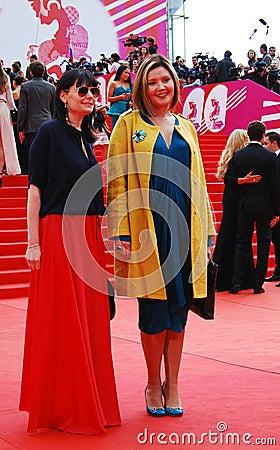 Film director Ekaterina Dvigubskaya at XXXVI Moscow International Film Festival Editorial Photography
