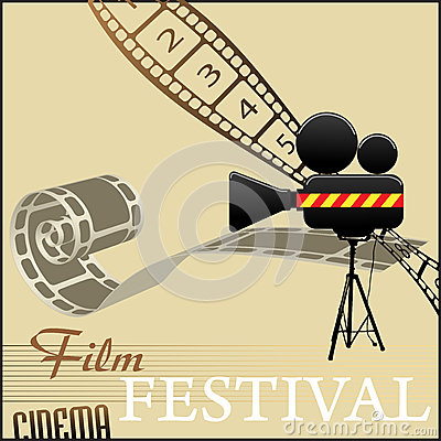 Film festival background