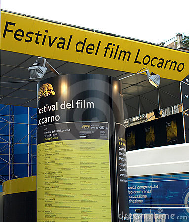 Film festival Locarno Editorial Stock Image
