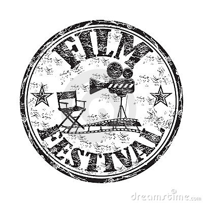 Film festival rubber stamp
