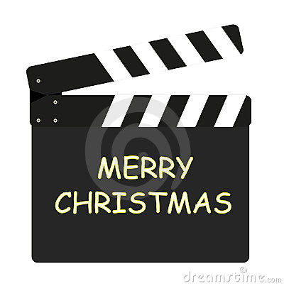 Film flap - Merry Christmas