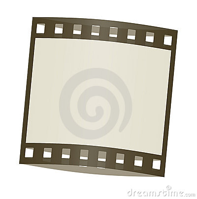 Film frame shadowed