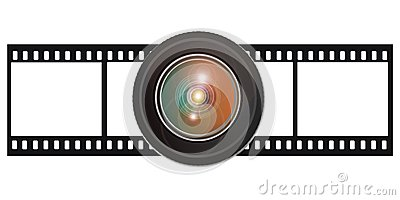 Film with lens
