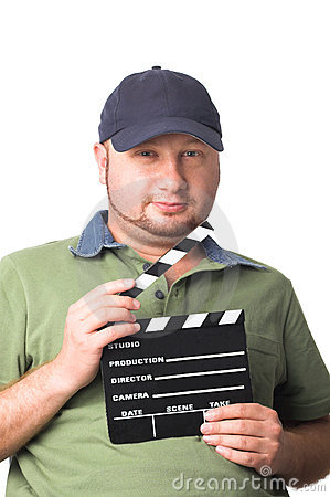 Film maker with film slate