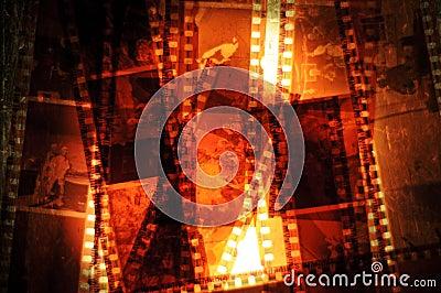 Film Negative Strips