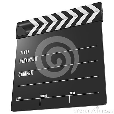 Film production time sync clapper