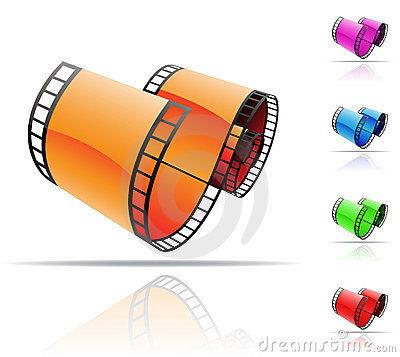 Free Film Reel Royalty Free Stock Images - 9210919