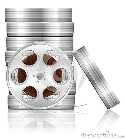Film reel and box