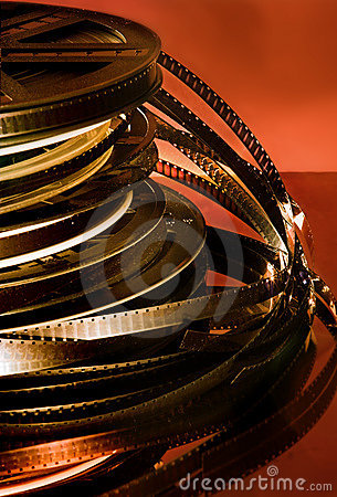 Free Film Rolls Royalty Free Stock Photography - 841807