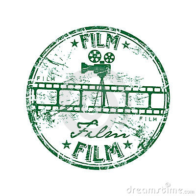 Film rubber stamp