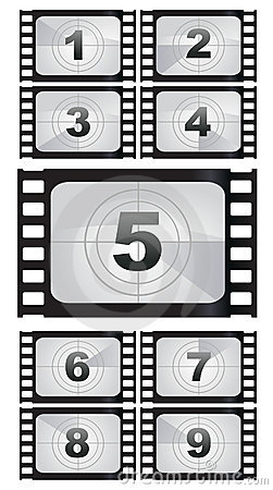 Film strip backgrounds