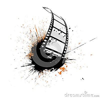 Free Film Strip Grunge Royalty Free Stock Photo - 14672335