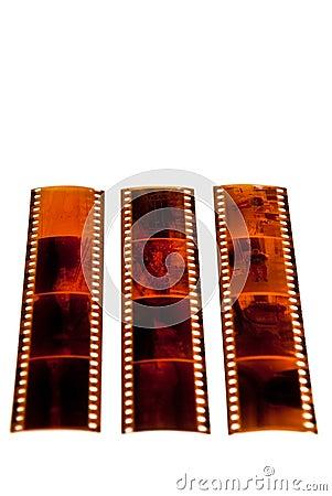 Film Strip Negatives