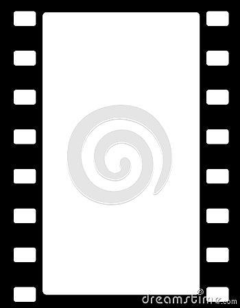Free Film Stripe Border Royalty Free Stock Photo - 17257145