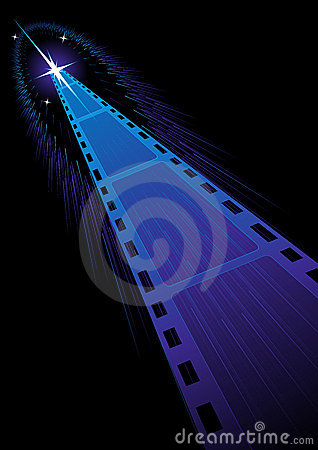 Film strips background