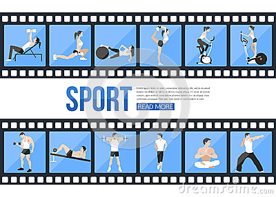 Workout Training Infographics Stock Photos, Images, & Pictures ...