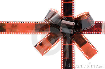 Film tape bow
