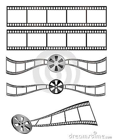 Film und Bandspule