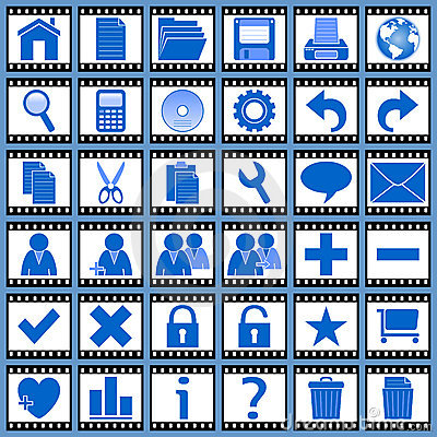 Film Web Icons [1]