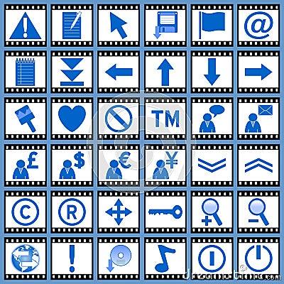 Film Web Icons [2]