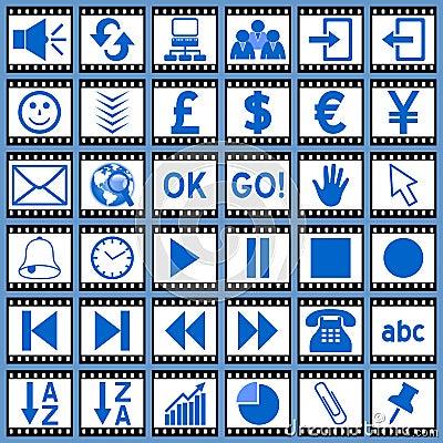 Film Web Icons [3]