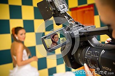 Filmación de la novia