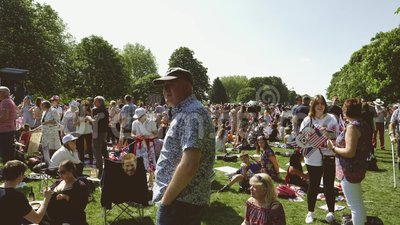 Filmowa Królewska Ślubna atmosfera w Windsor