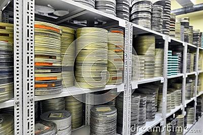 Films were stored