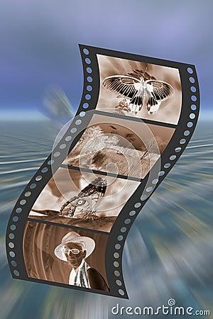 Free Filmstrip. Stock Image - 496441