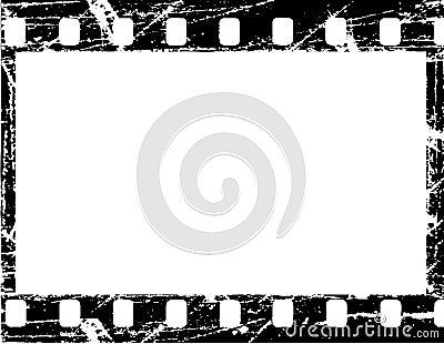 Filmstrip de Grunge