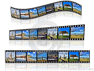 Filmstrip in a different perspective.