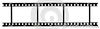 Filmstrip frames