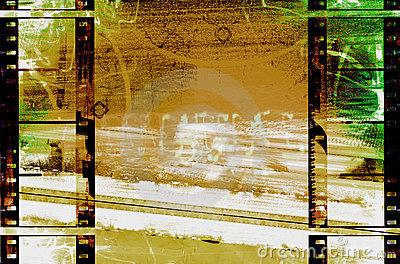 Filmstrips abstract grunge