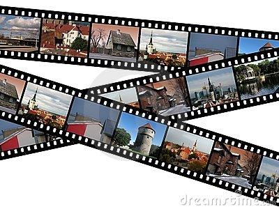 Filmstrips of Tallinn, Estonia