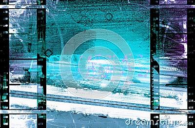 Filmstrips Urban Grunge