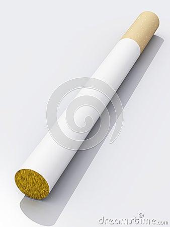 Filter tip cigarette