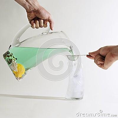 Free Filtered Seawater Stock Image - 5749731