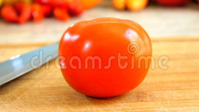 Filtração do tomate video estoque